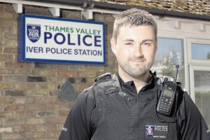 PC Barry Burnell, Thames Valley Police Community Police Officer of the Year for Buckinghamshire and overall winner 2013